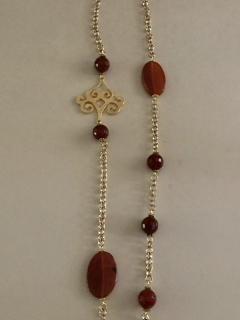 carnelian-with-chains